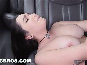 BANGBROS - humungous globes pornstar Karlee Grey on pound Bus