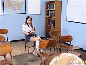 Darling student Dillion Harper gets banged by her teacher