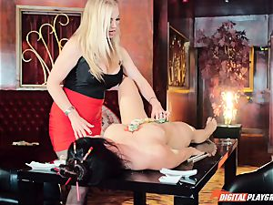 There is all types of sushi getting eaten in this restaurant - Eva Lovia and Rebecca More
