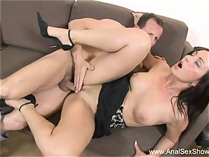Cindy likes pipe Up Her butt hole