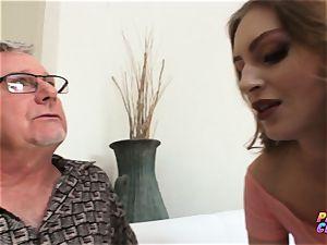 PervCity ass fucking tart Maya Kendrick entices old educator