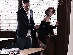 goth milking In Detention is anally punished