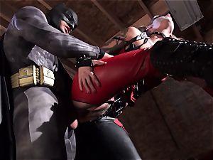 Kleio Valentien gives messy blowage to a superhero