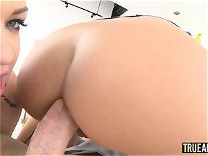 TRUEANAL ass-fuck threesome with Adriana and Karmen