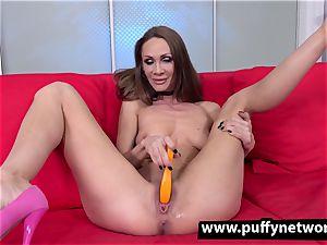 enormous fake penis for bony doll