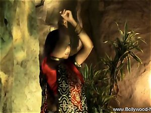 Indian milf babe Is epic When She Dances