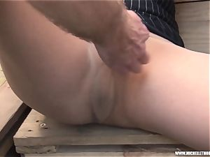 devotees smoking group fumble masturbate with Michelle Thorne