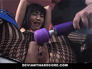 DeviantHardcore crazy japanese Gets taut vagina flagellating