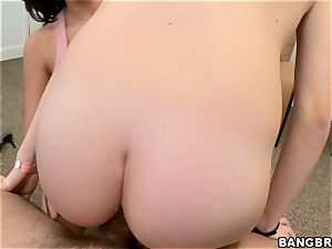 Rachel Starr and her buddy shag together