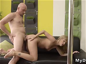 mommy and crazy crony s daughter Would you pole-dance on my chisel?