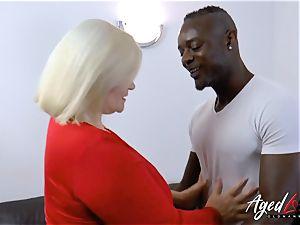 AgedLovE Lacey Starr bi-racial hardcore anal