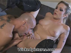 Rampant role play for Bailey Blue and a super-hot man