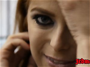 ginger-haired succubus Penny Pax boned into dumping