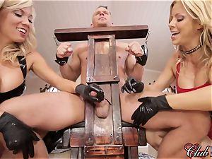 spunky Ms. Alexis Fawx dominates her new servant