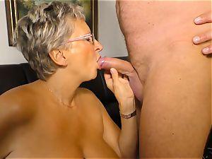 xxxOmas - Angelika J needs stiff man sausage - german porn