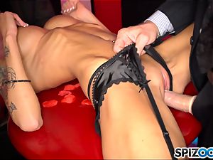 spit roasting Rikki six deep in all her holes