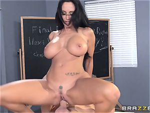 huge-boobed schoolteacher Ava Addams is nailed by her student
