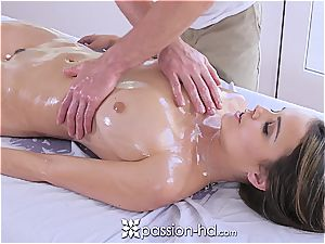 Passion-HD - Dillion Harper moist massage with facial