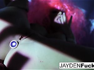 Jayden loves to have sumptuous joy